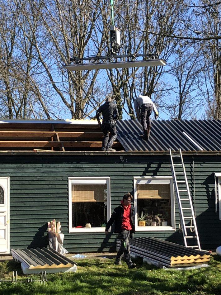 Nieuw dak